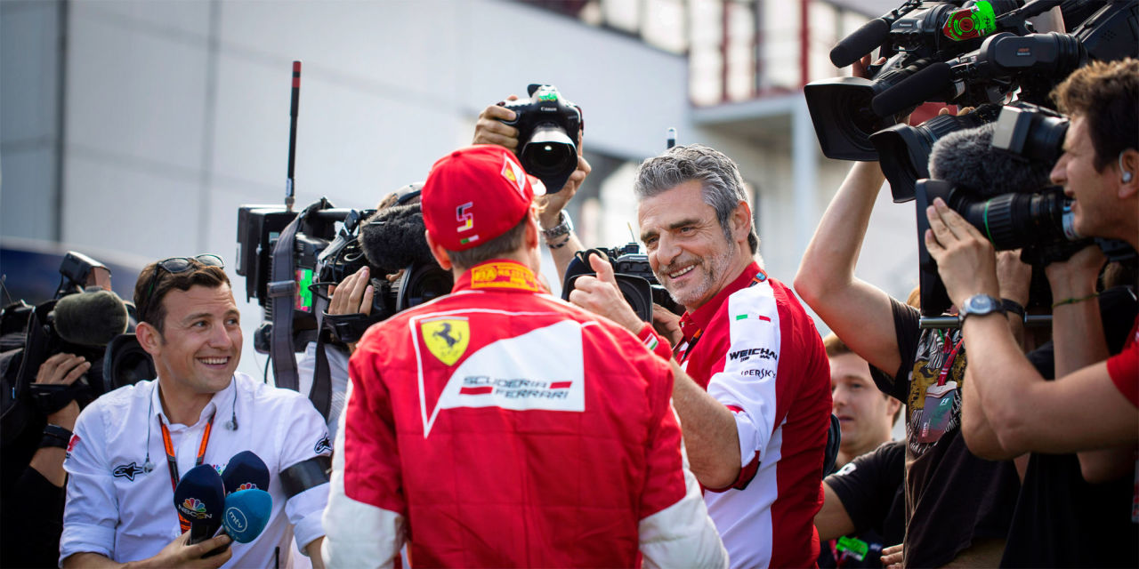 Meet the Mysterious Man Tasked With Returning Ferrari to F1 Glory - Ferrari  Center